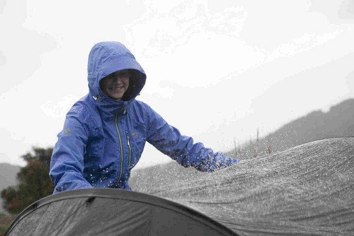 campezi pe ploaie