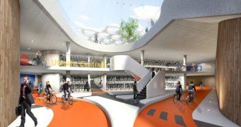 Cea mai mare parcare de biciclete din lume, inaugurata in tara lalelelor
