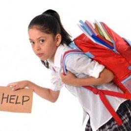Greutatea rucsacului de scoala - Cat trebuie sa cantareasca un ghiozdan?