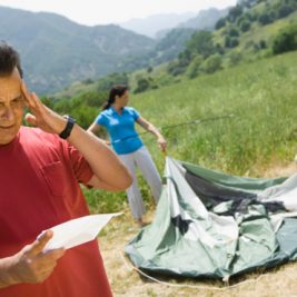 Reguli generale de campare, de capatai pentru iesirile cu cortul