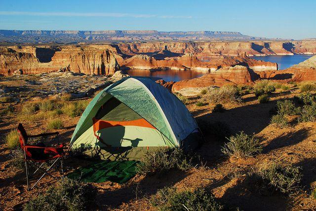 campare la cort - Grand Staircase-Escalante National Monument, Utah