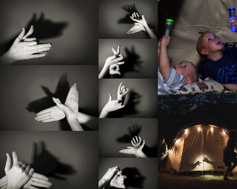 cu copilul in camping