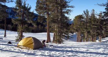 cu cortul iarna - imbunatatirea confortului termic