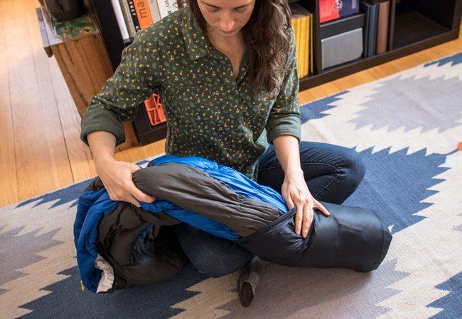 depozitarea sacului de dormit