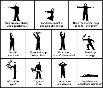 semnalele corpului - coduri de salvare