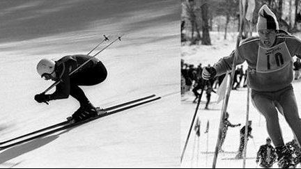 primele competitii de schi