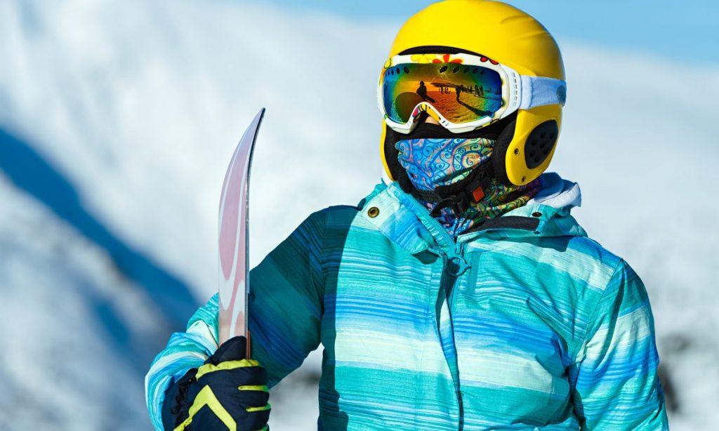 accesorizare exagerata la schi