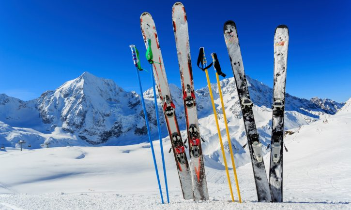 incepator la schi - echipament actual