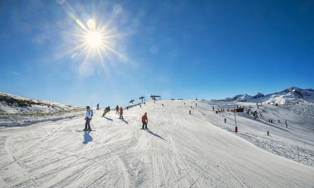 un sezon de schi fara strat de zapada