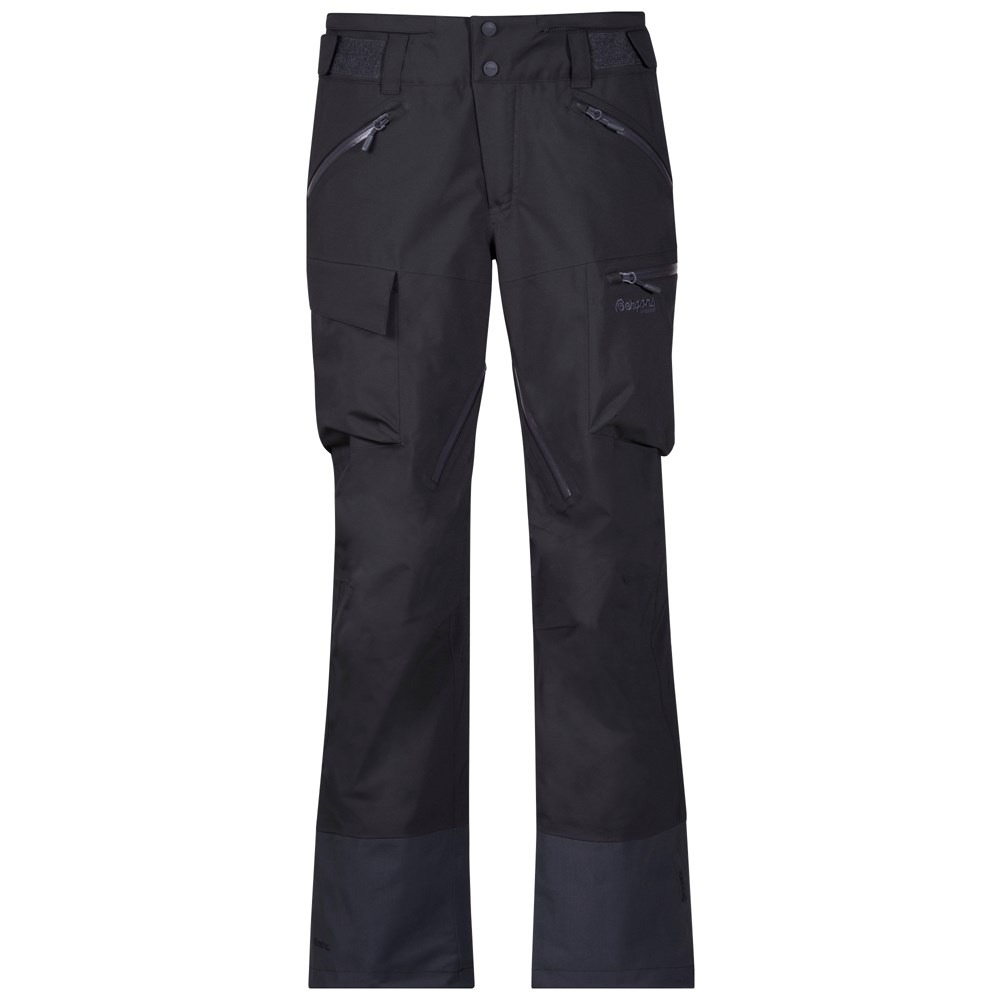 Bergans of Norway Pantaloni de ski tip shell pentru femei Bergans Hafslo Lady - Antracit