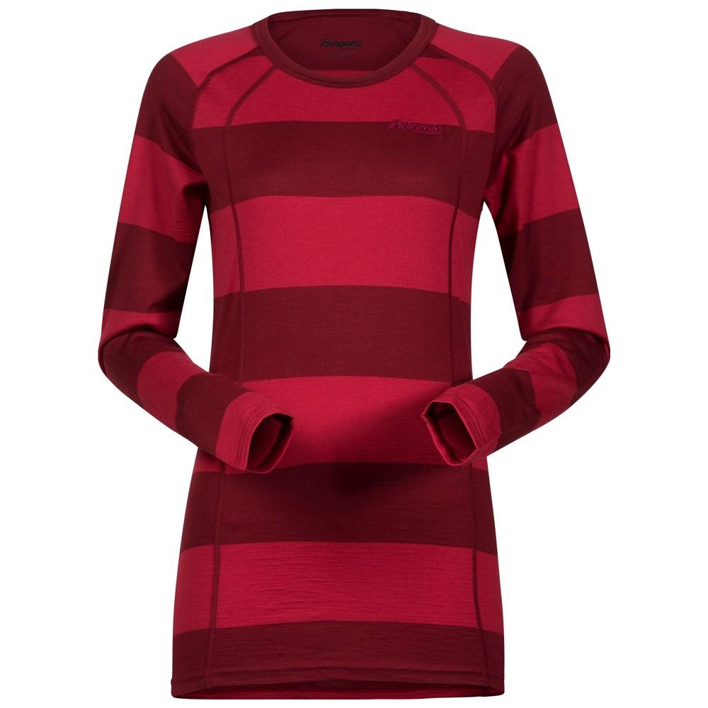 Bluza de corp Bergans Fjellrapp Lady - Rosu