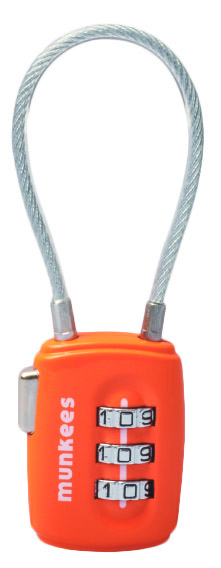 Munkees Lacat cu cifru Munkees (cablu)