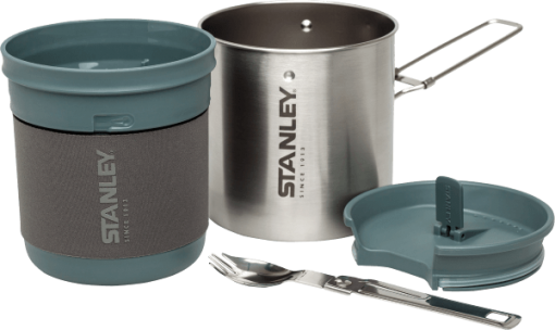 Stanley Set de vase Stanley Mountain Inox 700ml - Argintiu