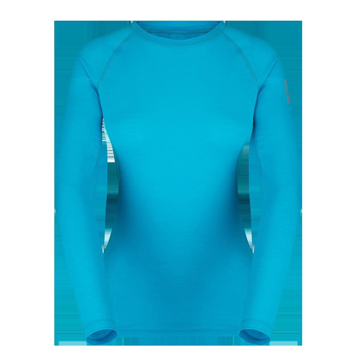Zajo Bluza de corp din lana merino ZAJO Elsa Lady - Albastru
