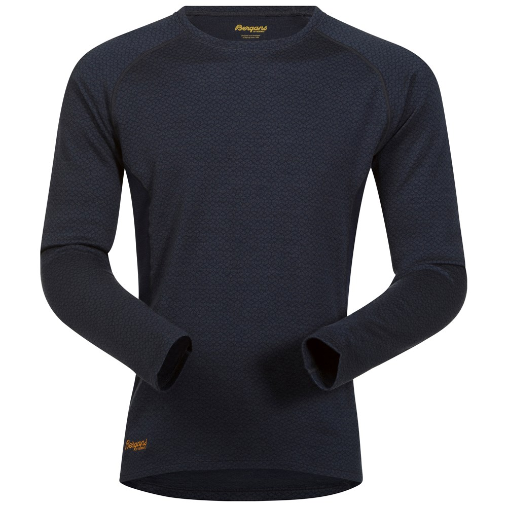 Bluza de corp Snoull Bergans of Norway - 100% Merino Wool - Navy