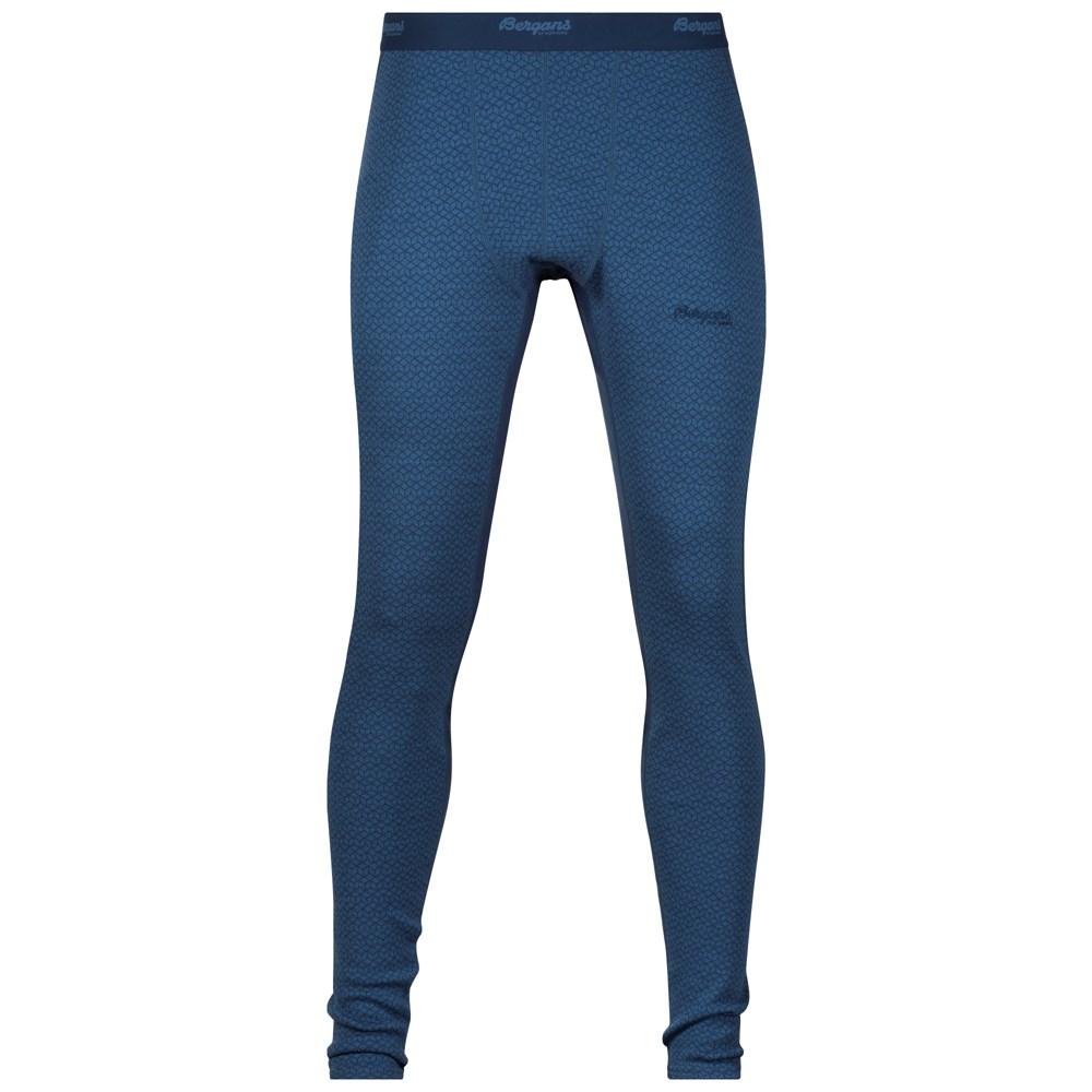 Pantaloni de corp Snoull Bergans of Norway - 100% Merino Wool - Albastru