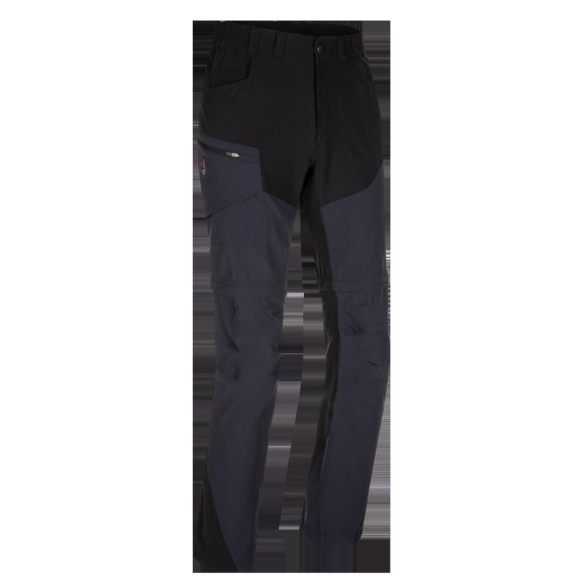 Zajo Pantaloni de trekking convertibili ZAJO Magnet Neo Zip Off - Negru