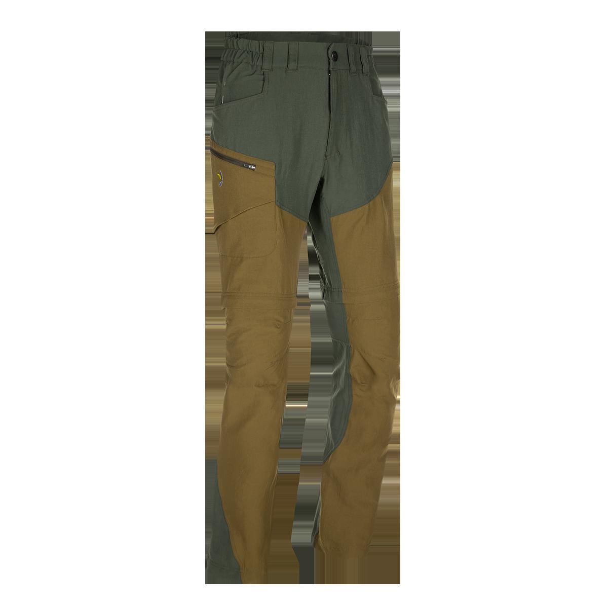 Zajo Pantaloni de trekking convertibili ZAJO Magnet Neo Zip Off - Kaki