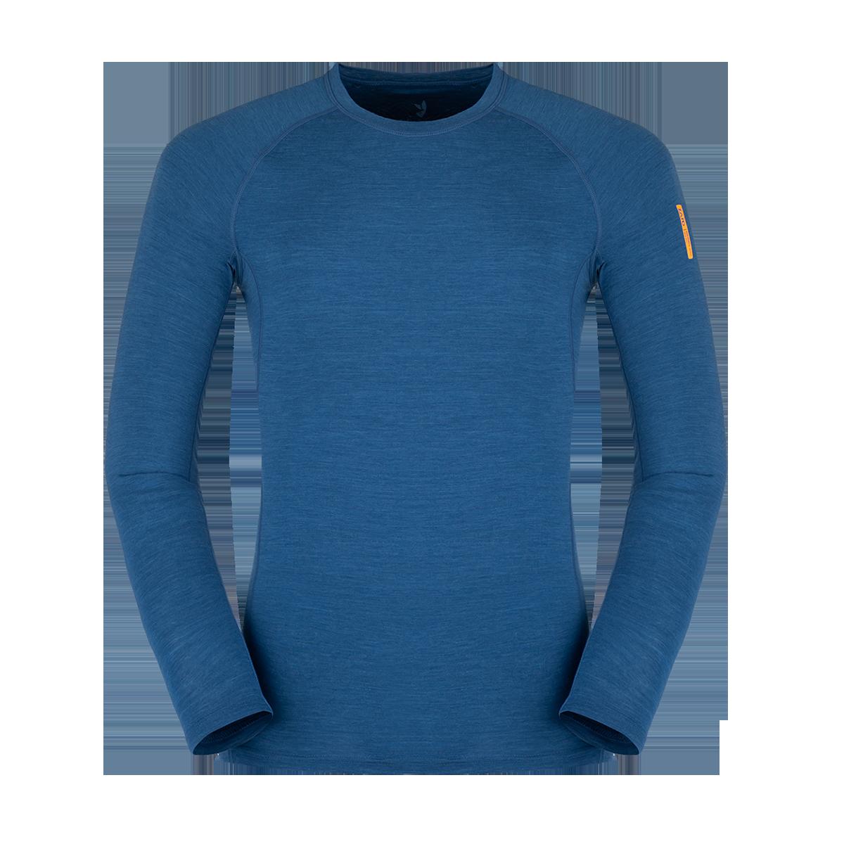 Zajo Bluza de corp din lana merino ZAJO Bjorn - Navy