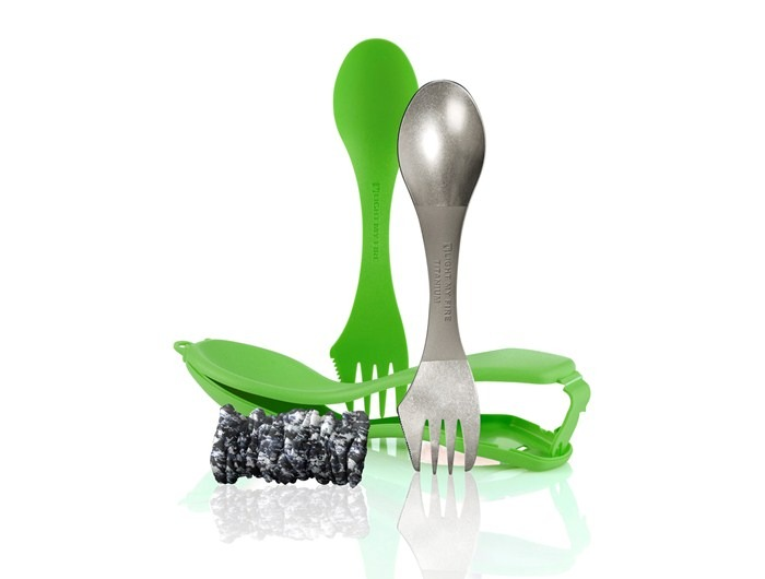 Light My Fire Set tacamuri Light My Fire Ultimate Spork Kit - Verde