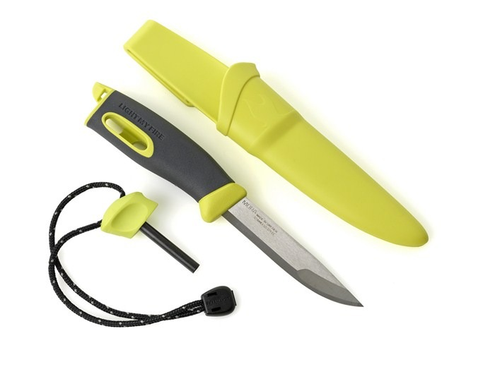 Light My Fire Cutit supravietuire Light My Fire FireKnife - Lime