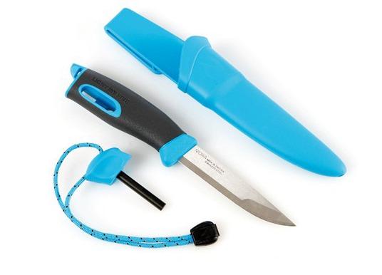 Cutit supravietuire Light My Fire FireKnife - Albastru