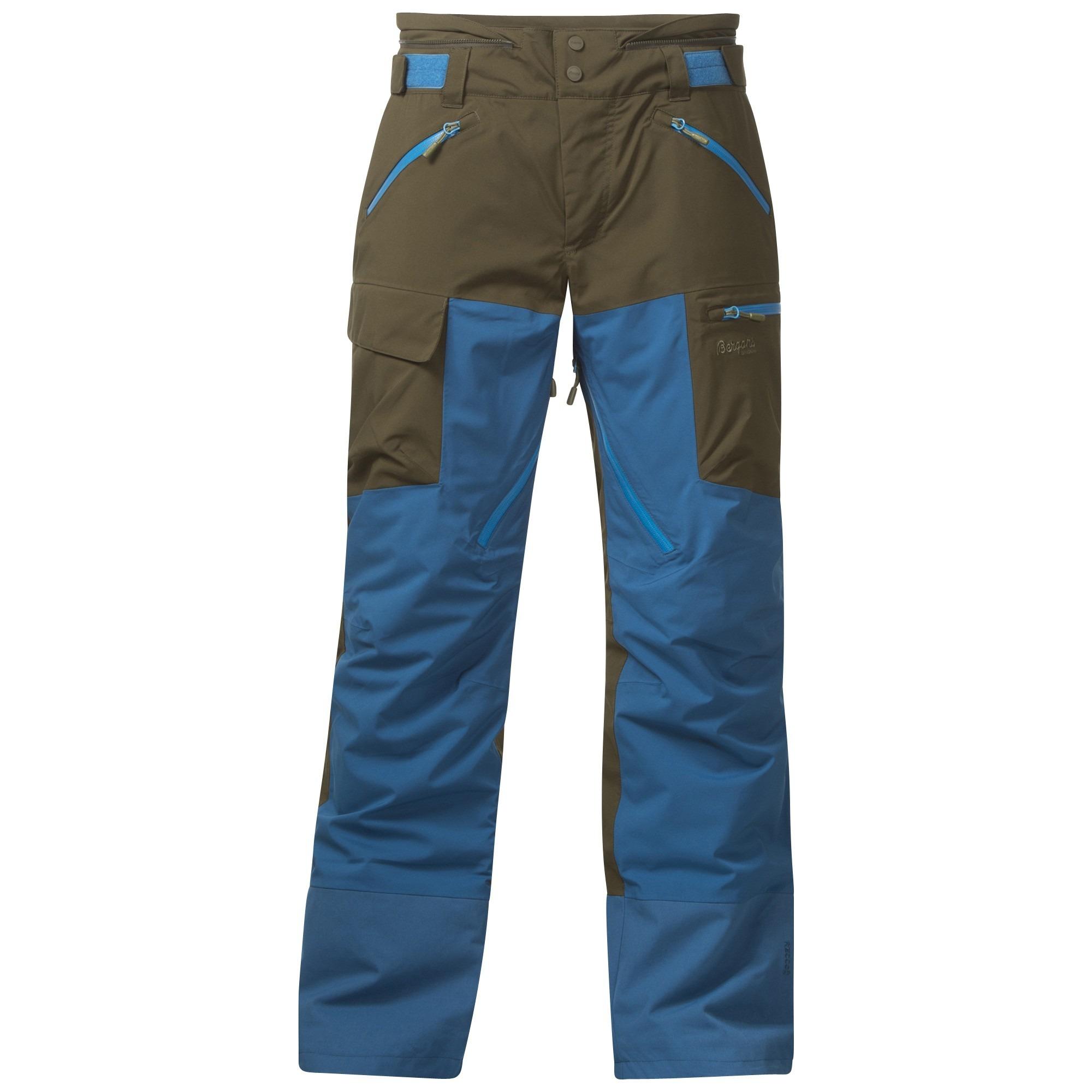 Pantaloni Bergans Hafslo Insulated - Kaki