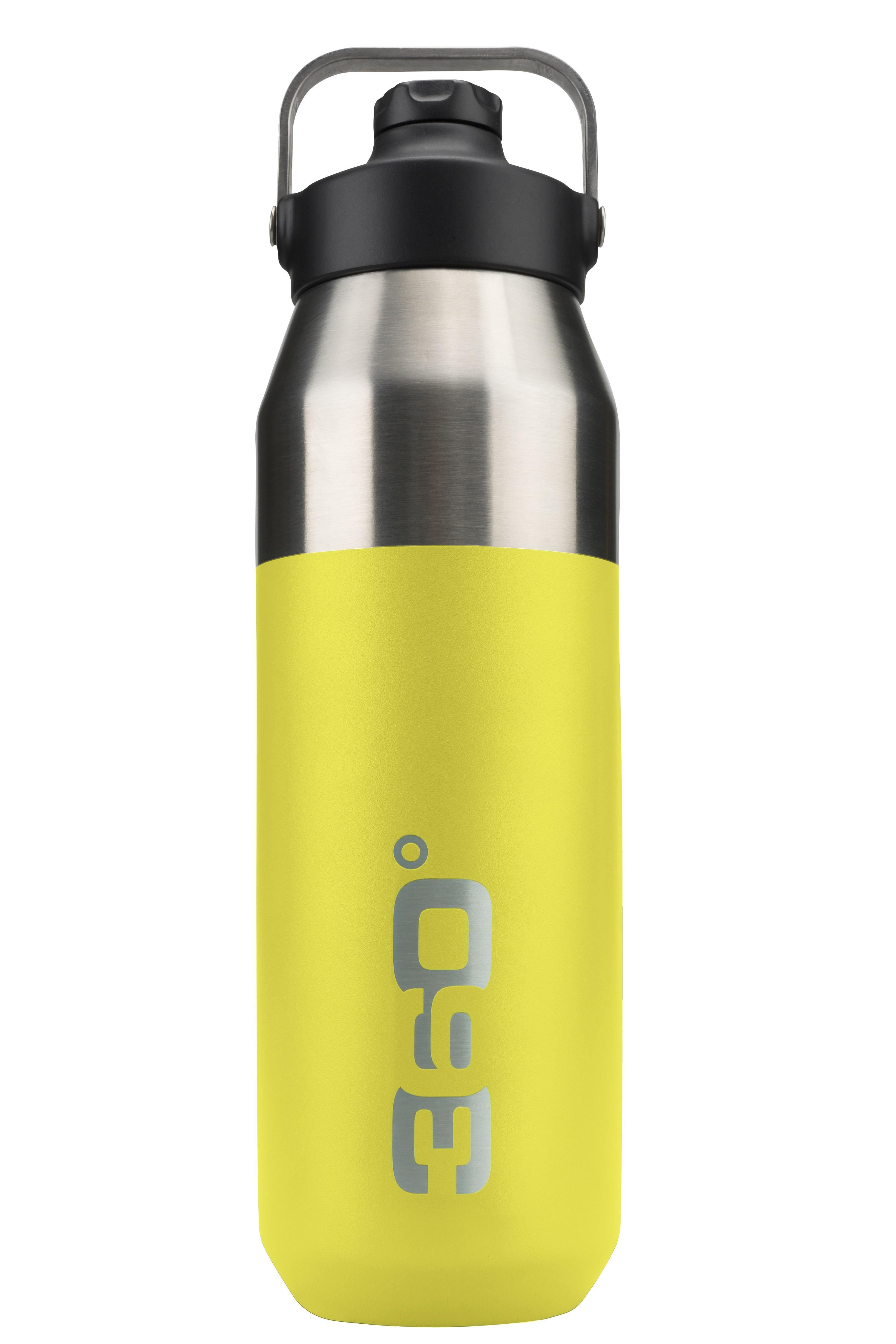 Bidon Izolator Inox 360 Degrees 1l Cu Capac Si Dop Magnetic - Lime