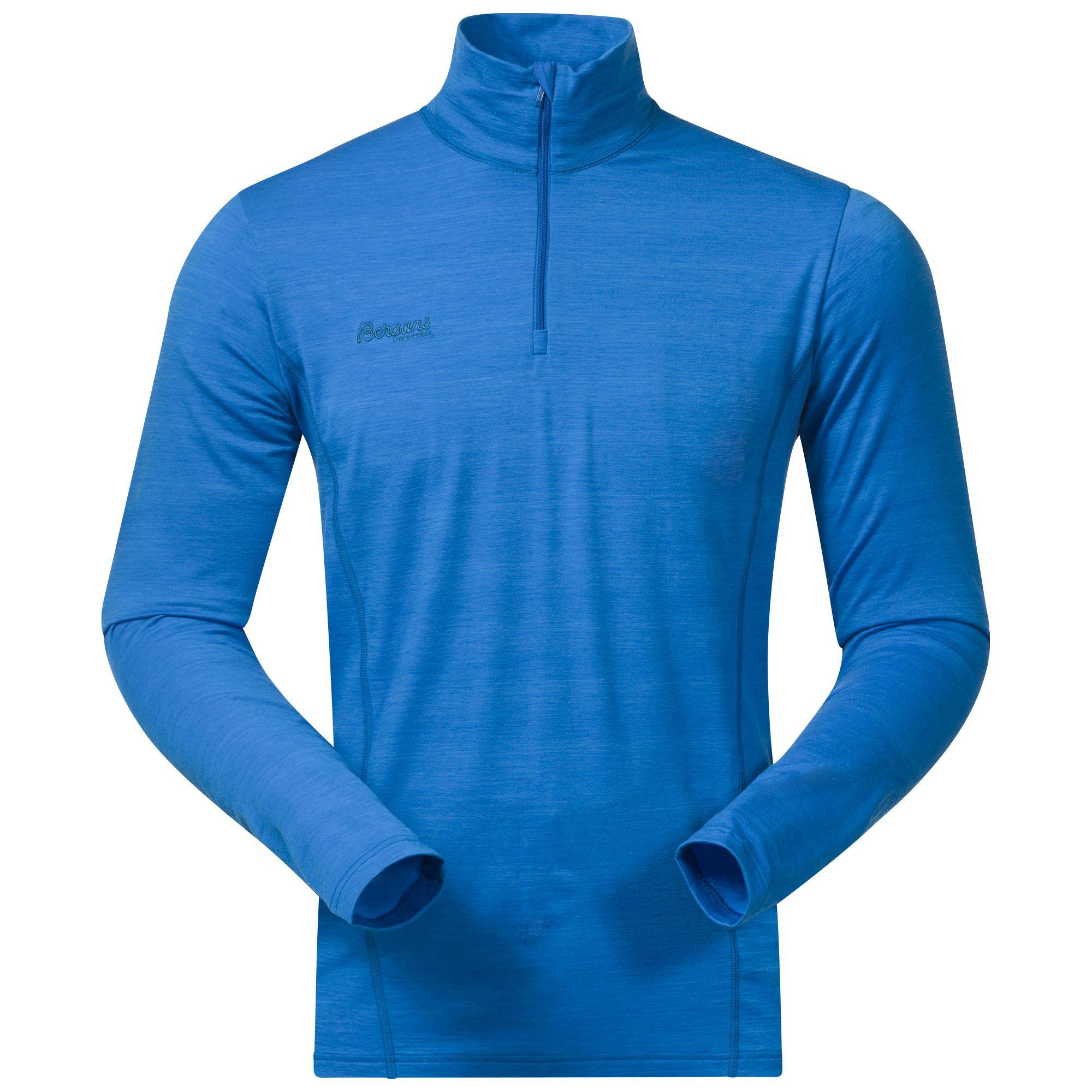 Bluza De Corp Bergans Soleie Half Zip - Albastru