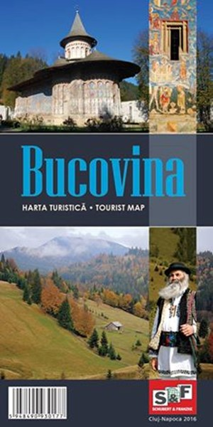 Muntii Nostri Harta turistica Bucovina
