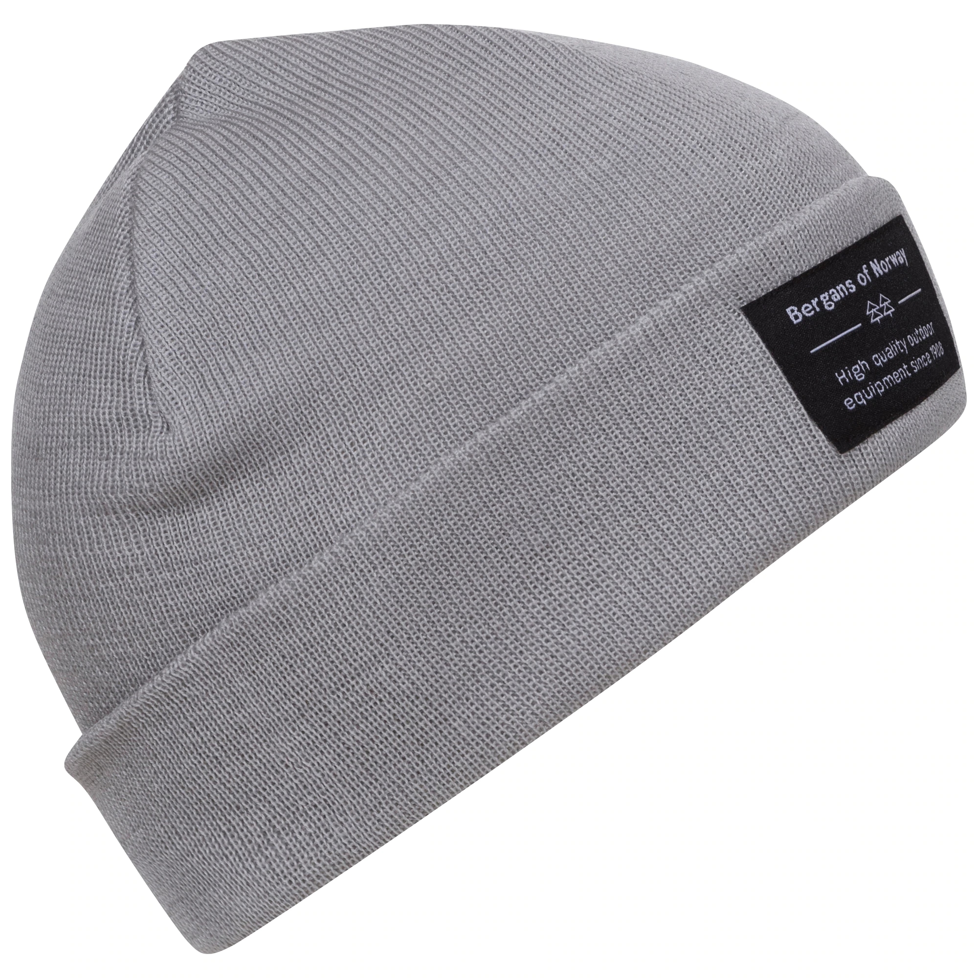 Caciula Bergans Fine Knit - Aluminium la Reducere poza