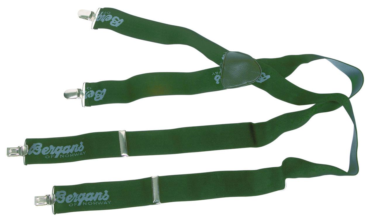 Bretele Bergans Cu Clip - Verde