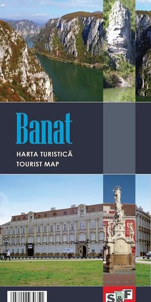 Harta turistica a Banatului