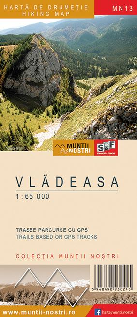 Harta drumetie Muntii Vladeasa - Muntii Nostri