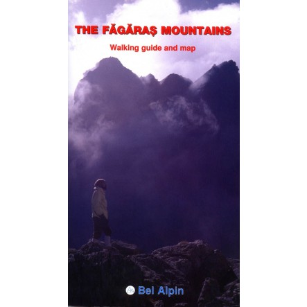 Fagaras Mountains - A Walking Guide and Map - Bel Alpin - harta, ture munte, echipament munte, echipament montan la proalpin.ro