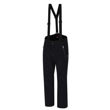 Pantaloni ski softshell Hannah Samwell - Negru