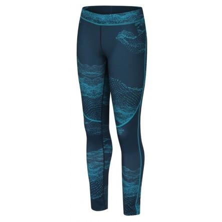 Pantaloni alergare femei Hannah Monety - Albastru