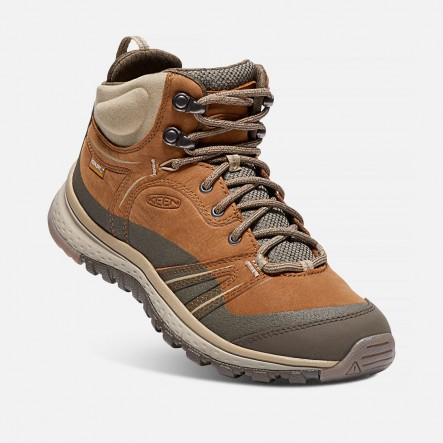 Ghete KEEN TERRADORA LEATHER MID WP W - Maro