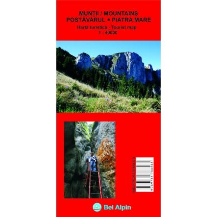 Harta Postavaru si Piatra Mare - harta, ture munte, echipament munte, echipament montan