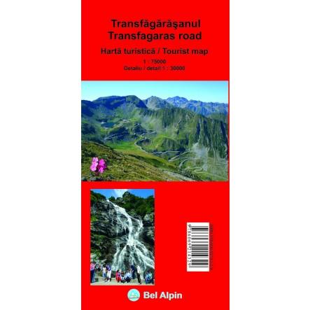 Harta Transfagarasan - harta, ture munte, echipament munte, echipament montan la proalpin.ro