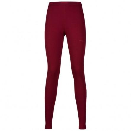 Pantaloni de corp Bergans Akeleie Lady - Rosu