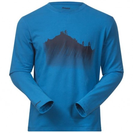 Bluza Bergans Mountainbike LS - Albastru