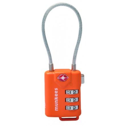 Lacat cu cifru Munkees TSA (cablu)