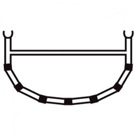 4-Tija transversala cu bara superioara pentru canoele Ally 15.5, 17, 18.5