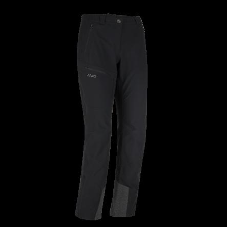 Pantaloni tehnici de trekking ZAJO Argon Neo Lady - Negru