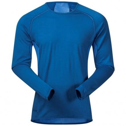 Bluza de corp 100% lana Merino Bergans Barlind - Albastru