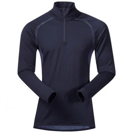 Bluza de corp 100% Lana Merino Bergans Barlind 1/2 Zip