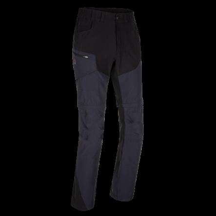 Pantaloni de trekking convertibili ZAJO Neo Zip Off - Negru