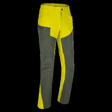 Pantaloni de trekking convertibili ZAJO Magnet Neo Zip Off - Lime