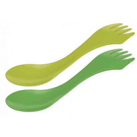 Set tacamuri Light My Fire Spork XM - 2 bucati - Lime/Verde